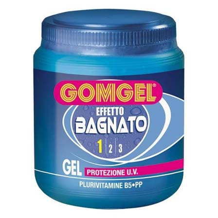 Gomgel gel per capelli effetto bagnato vaso 1000 ml - Gel effetto bagnato ...